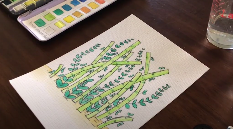 Doodles with Prism: Bamboo Forest