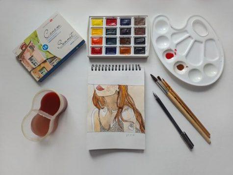 Painting by Aisvri via Unsplash